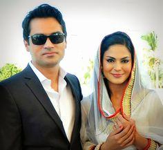Veena Malik gets married to Dubai based Businessman Asad Basheer Khan Khattak
