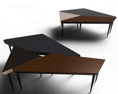 Distortion Table Set on Behance