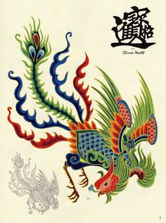 Asian tattoo art
