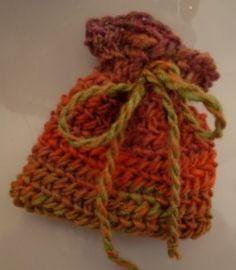 Nalbinding - Oslo stitch pouch