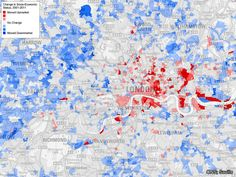 The Economist explains: What is driving urban gentrification? Rent In London, London Map, City Maps, Cartography, Geography, Urban, Drawings, Blog, Estate Agents