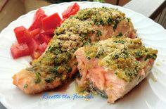 filetto di salmone con crosta di aromi
