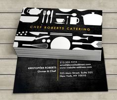 BLACK AND WHITE KITCHEN COLLAGE No. 4 Business Card Template This great business card design is available for customization. All text style, colors, sizes can be modified to fit your needs. Just click the image to learn more! | bizcardstudio.co.uk