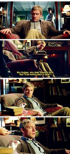 Because John is clever, clever enough to put it all together without Sherlock directly telling him.<----Owwwwww. Feels.