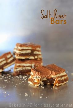 Salt River Bars 72-80 club crackers 1 cup butter 2 cups crushed graham crackers 2 cups packed brown sugar 2/3 cup milk 2 tsp. vanilla