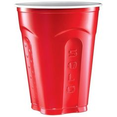 The Red Solo Cup Every Party's Most Popular Guest ❤ liked on Polyvore featuring food, drinks, fillers, food and drink and red
