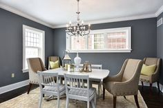 Software paint color SW 7074 by Sherwin-Williams. View interior and exterior paint colors and color palettes. Get design inspiration for painting projects. Blue Paint Colors, Room Paint Colors, Paint Colors For Home, Grey Paint, House Colors, Neutral Paint, Home Office Layouts, Mindful Gray, Home Design Software