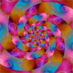 Christine Bässler - spirale colorato