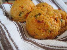 Shrimp and Jalapeno Sweet Potato Biscuits