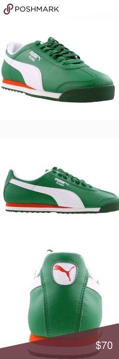 7fb00adf8e1 PUMA ROMA BASIC WORLD CUP MEXICO FUTBOL GREEN Brand new dead stock size 11 Puma  Shoes