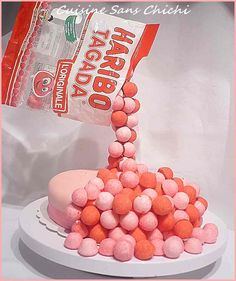 Gravity cake fraises tagada 01