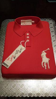 Polo Shirt cake | cake for men
