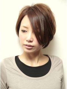 ブロカント ヘア ドレッシング(Brocante HAIR DRESSING)揺れる前下がりショート☆