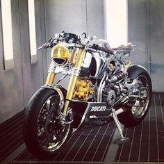 "skililo: ""Ducati panigale 1199S from @ortolanicustoms """