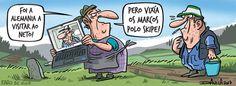 Viñeta - Faro de Vigo