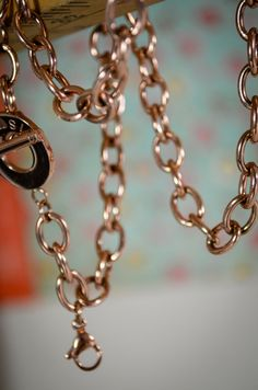 20in CHUNKY ROSEGOLD CHAIN for floating Locket Floating Charms like Origami Owl and South Hill Designs