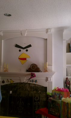Angry Birds decorations