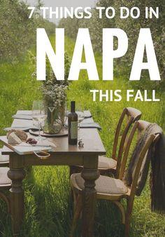 Headed to Napa? Harv