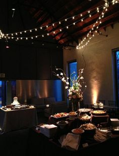 Simple, yet beautiful lights for a reception we recently did at Ruby in #Nashville. www.nashvilleeventlighting.com