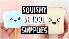 WEIRD SQUISHY DIY BACK TO SCHOOL SUPPLIES