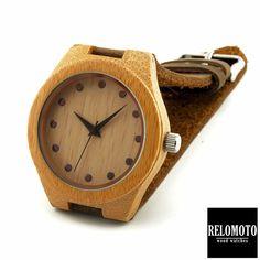 Banaag Bamboo Wood Watch - Relomoto