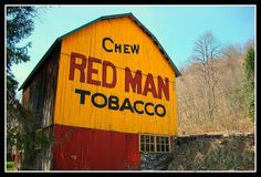 RED MAN TOBACCO BARN by ironcity707, via Flickr