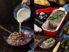 Paté de carne con pistachos