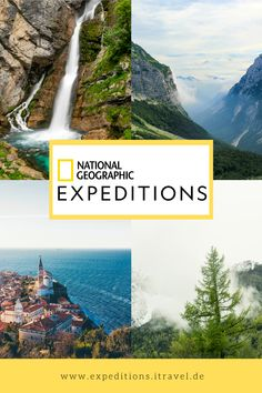 Der perfekte Roadtrip durch Slowenien mit National Geographic - Mach Urlaub vom Alltag und rein ins Abenteuer Europa! #slowenien #outdoor #travel #reise #roadtrip National Geographic Expeditions, Roadtrip, Mountains, Nature, Travel, Outdoor, Europe, Group Tours, Slovenia