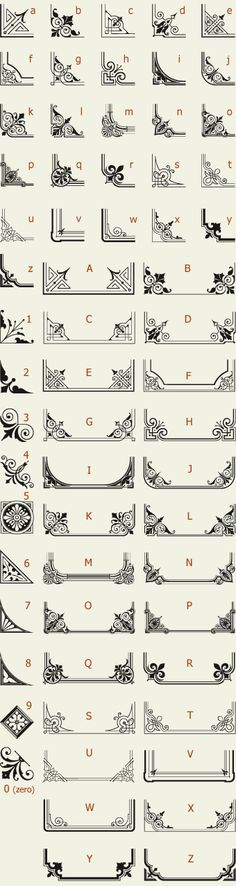 边框Letterhead Fonts /... icons vector borders painting drawing resource tool how to tutorial instructions | Create your own roleplaying game material w/ RPG Bard: www.rpgbard.com | Writing inspiration for Dungeons and Dragons DND D&D Pathfinder PFRPG Warhammer 40k Star Wars Shadowrun Call of Cthulhu Lord of the Rings LoTR + d20 fantasy science fiction scifi horror design | Not Trusty Sword art: click artwork for source
