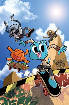 The Amazing World of Gumball #1 Variant - Troy Little