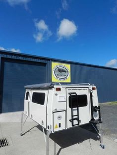 Single Cab - Slide On Campers at Dynamic Engineering & Fabrication Pty Ltd.