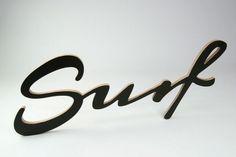 Napis SURF // Twórczywo