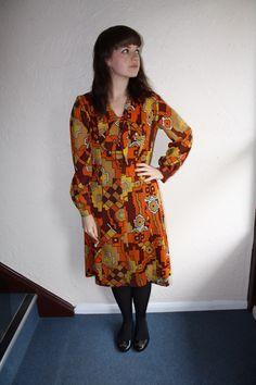 60s Multi Coloured Dress