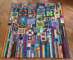 Gypsy  Wife  Quilt made by owner of webfabrics.com from Jen Kingwell pattern