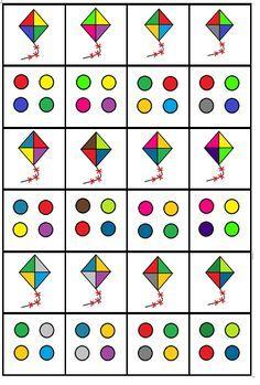 Świetna gra na spostrzegawczość i koncetrację uwagi Library Activities, Montessori Activities, Learning Activities, Preschool Activities, Preschool Printables, Preschool Math, Preschool Worksheets, Fun Worksheets For Kids, Math For Kids