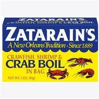 Crawfish, Shrimp and Crab Boil - In a Bag