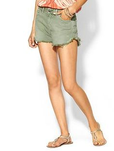 these have been my go to shorts all summer .. free people