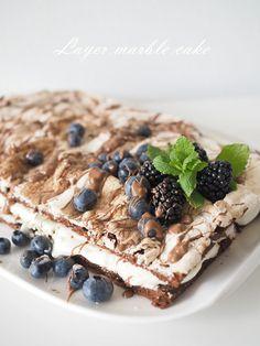 Avec Sofié blog l Salted butter caramel marble cake