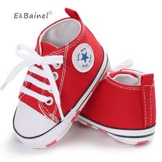 3f45413d5559a New Canvas Baby Sneaker Sport Shoes For Girls Boys Newborn Shoes Baby  Walker Infant Toddler Soft Bottom Anti-slip First Walkers - Kid Shop Global  - Kids ...