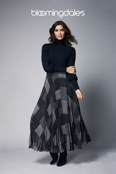 Printed dresses, refined knits and tailored trousers elevate the latest arrivals from Lauren Ralph Lauren. Fashion Line, I Love Fashion, Modest Fashion, Autumn Fashion, Fashion Outfits, Fashion Design, Ralph Lauren Womens Clothing, Fashion Tips For Women, Womens Fashion