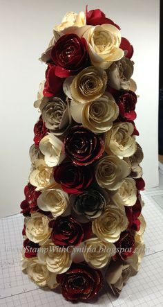 My video for Making Paper Roses - the Video using the Spiral Flower die