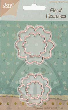 Joy Crafts Floral Flourishes Cutting Dies - Flower 3