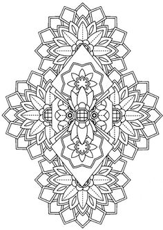 108 Printable Intricate Mandala Coloring Pages By KrishTheBrand