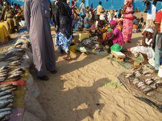 mercado de pescado de Mbour
