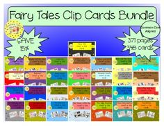 Fairy Tales Clip Cards Bundle