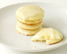 Lemon Ricotta Cookies with Lemon Glaze                                                                                                                                                      More