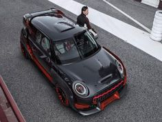 Race-inspired MINI John Cooper Works GP concept uncovered
