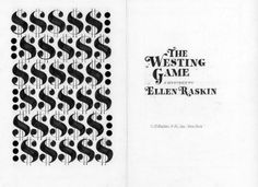 Tinybop Loves | The Westing Game by Ellen Raskin.  A jumble of heirs (and one mistake) vie for millions