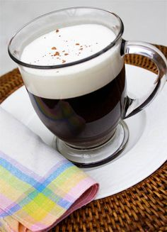An Recipe for Irish Coffee (contains alcohol - drink sensibly not for under 18's in Europe or under 21's in USA)