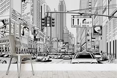illustrated-nyc-mural-wallpaper